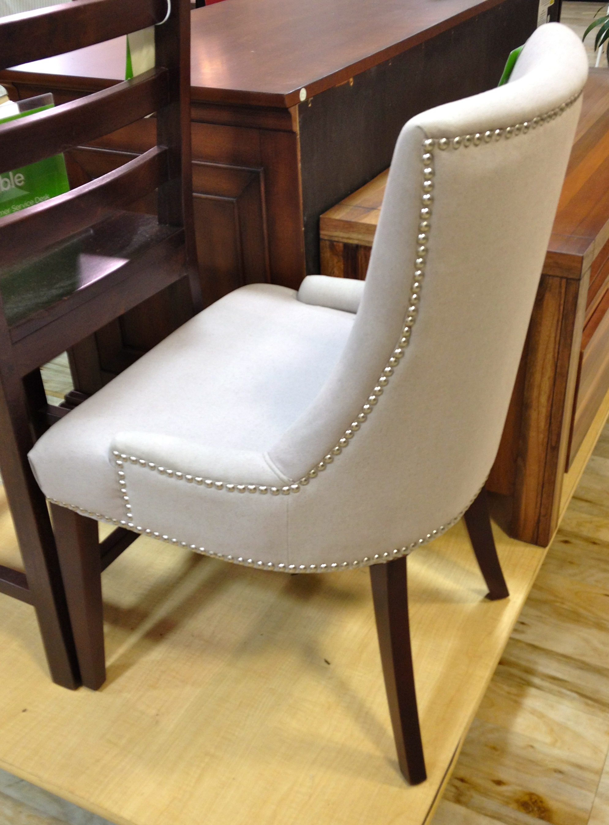 this chair is lovely i would classify this chair as an accent or